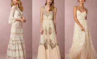 Lãng mạn và phóng khoáng cùng váy phù dâu Bohemian - Blog Marry