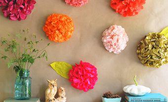 3 cách làm hoa giấy trang trí đám cưới ai cũng làm được - Blog Marry