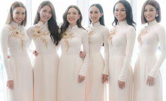 Dàn phụ dâu xinh như Hoa hậu trong đám hỏi Lan Khuê - Blog Marry