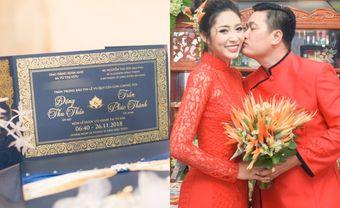 Thiệp cưới mang hơi thở biển xanh của Hoa hậu Đặng Thu Thảo - Blog Marry