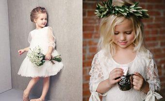 Cách chọn váy phù dâu nhí mùa Đông chuẩn như đám cưới Hoàng gia - Blog Marry