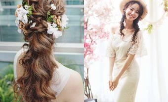 """Hướng dẫn tết tóc cô dâu Hàn Quốc """"đốn ngã"""" mọi con tim - Blog Marry"""