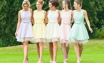21 chiếc váy phù dâu dáng ngắn xinh nhất mùa cưới 2019 - Blog Marry