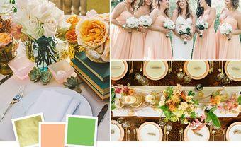 Top 9 sự kết hợp màu sắc độc đáo cho đám cưới - Blog Marry