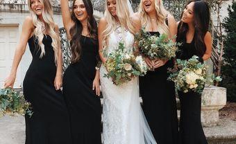 7 ý tưởng tạo nên sự khác biệt cho váy của dàn phù dâu - Blog Marry