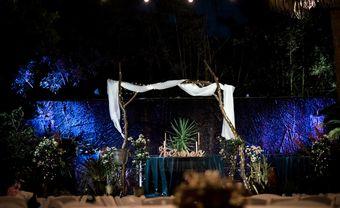 Khác lạ với tiệc cưới phong cách miền nhiệt đới - Blog Marry