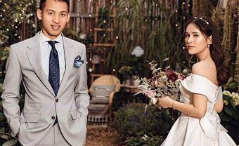 """Fan """"tan chảy"""" trước ảnh cưới ngọt ngào của tiền vệ Dũng """"chíp"""" - Blog Marry"""
