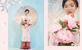 """11 mẫu áo dài cách tân giúp bạn """"lột xác"""" trong Tết 2019 - Blog Marry"""