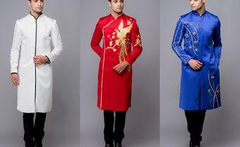 10 mẫu áo dài cưới đơn giản mà vẫn nổi bật cho chàng rể mới - Blog Marry