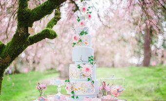 10 mẫu bánh cưới floral điểm thêm nét lãng mạn cho hôn lễ - Blog Marry