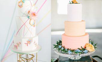 Đón trend 2019 với bánh kem cưới màu cam san hô ngọt ngào - Blog Marry