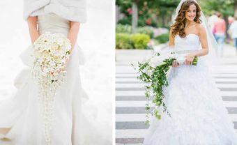 Những kiểu hoa cưới cầm tay được các cô dâu ưa chuộng nhất hiện nay - Blog Marry