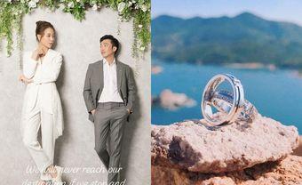 """Đàm Thu Trang khoe nhẫn cưới trước ngày """"về dinh"""" với Cường Đô La - Blog Marry"""