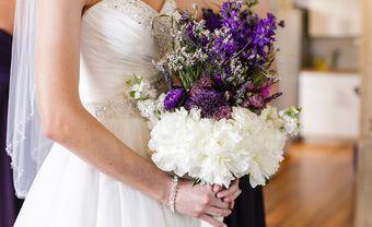 Hoa cưới tháng 2: Nàng hoa violet dịu dàng thủy chung - Blog Marry