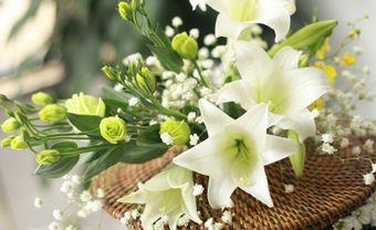 Hoa cưới tháng 4: Loa kèn trắng kiêu sa - Blog Marry