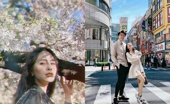 Ca nương Kiều Anh khoe ảnh cực tình với chồng đại gia tại Hàn Quốc - Blog Marry