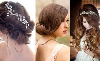 20 kiểu tóc cô dâu đẹp và lộng lẫy nhất cho mùa cưới - Blog Marry