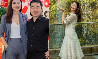 Loạt ảnh Ninh Hoàng Ngân đẹp' 'không góc chết' cùng chồng tại Singapore - Blog Marry