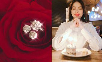 Trọn bộ trang sức cầu hôn cực 'khủng' của Phạm Hương - Blog Marry
