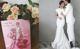 Thiệp cưới Tết lạ mắt của cặp diễn viên Anh Tài - Vũ Ngọc Ánh - Blog Marry