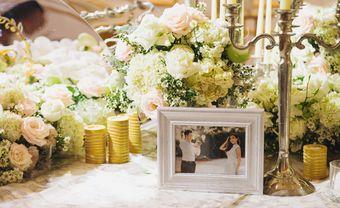 Ấn tượng dàn hoa tươi đắt đỏ trong tiệc cưới của Lê Hiếu - Blog Marry