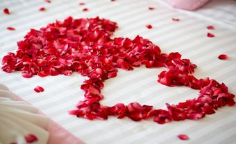 Gợi ý cách trang trí phòng cưới ấn tượng bằng hoa hồng - Blog Marry