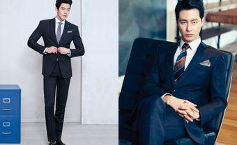 Tuyệt chiêu chọn vest cưới nam hoàn hảo chuẩn sao Hàn - Blog Marry