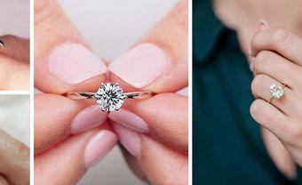 5 mẫu thiết kế nhẫn đính hôn đẹp và phổ biến nhất hiện nay - Blog Marry