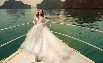 Mẫu thiết kế váy cưới mang phong cách hoàng gia cho cô dâu lãng mạn - Blog Marry