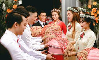 Tất tần tật về tráp ăn hỏi 7 lễ theo truyền thống miền Bắc - Blog Marry