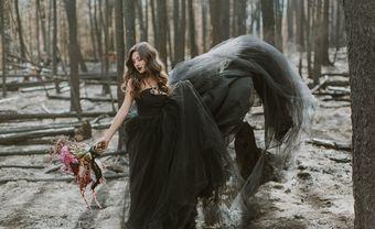 25 mẫu váy cưới màu đen đẹp ấn tượng dành cho cô dâu táo bạo - Blog Marry