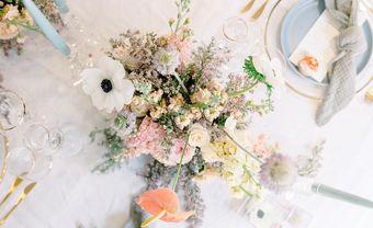 5 bảng màu cưới hoàn hảo cho hôn lễ vào mùa xuân - Blog Marry