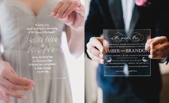 Thiệp cưới acrylic: sự lựa chọn vừa thanh lịch cho đám cưới của bạn - Blog Marry