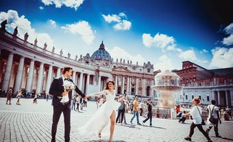 Nên chụp ảnh cưới ngoài trời hay chụp trong studio? - Blog Marry