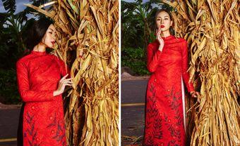 Áo dài cưới gấm đỏ - nét đẹp truyền thống sang trọng cho cô dâu - Blog Marry