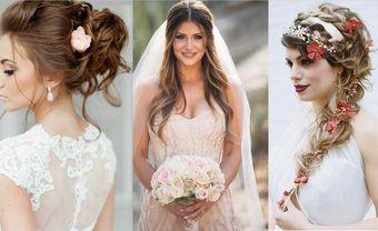 20 kiểu thắt tóc cưới chắc chắn sẽ khiến mọi cô dâu đều yêu thích - Blog Marry