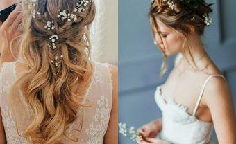 5 kiểu tóc giúp cô dâu mặt tròn trở nên rực rỡ trong ngày trọng đại - Blog Marry