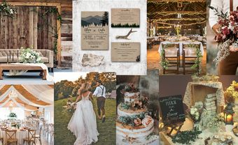 """Trang trí đám cưới theo phong cách Rustic mang """"chất"""" riêng của bạn - Blog Marry"""