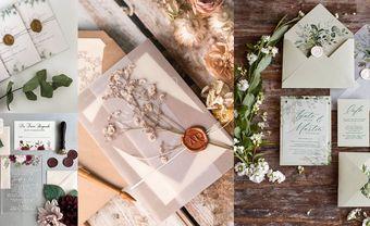 6 mẫu thiệp cưới phong cách nhẹ nhàng mà nàng thơ nhất định phải cân nhắc cho đám cưới của mình 2021 - Blog Marry