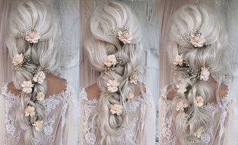 Hướng dẫn cách thực hiện 18 kiểu tóc cưới ấn tượng cho cô dâu tự làm tại nhà - Blog Marry