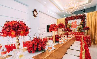 Lựa chọn mẫu bàn thờ gia tiên đám cưới cho ngày vui thêm trọn vẹn - Blog Marry