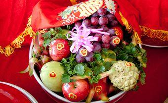 Gợi ý chuẩn bị tráp hoa quả sao cho vừa đẹp vừa ý nghĩa 2020 - Blog Marry
