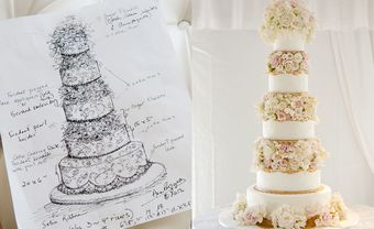 Làm thế nào để chọn được một chiếc bánh cưới đẹp mà chất lượng? - Blog Marry