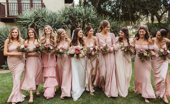 22 ý tưởng trang phục váy phù dâu cho mùa thu (P1) - Blog Marry