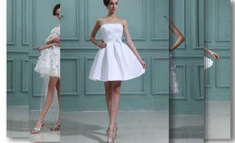 13 chiếc váy cưới ngắn dành cho cô dâu yêu thích sự mới mẻ - Blog Marry