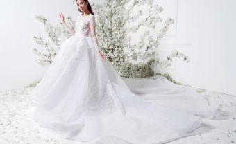 Những mẫu đầm cưới đơn giảncho cô dâutinh tế - Blog Marry