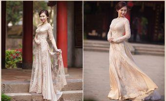 Những mẫu áo dài cô dâu giúp bạn trở nên thật duyên dáng trong ngày cưới - Blog Marry