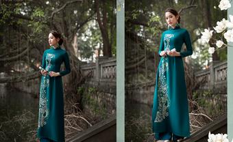 Những mẫu áo dài đám hỏi ấn tượng dành riêng cho bạn - Blog Marry