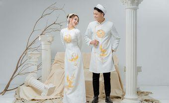 Áo dài cưới gấm trắng- nét đẹp truyền thống và sang trọng cho cô dâu - Blog Marry