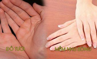 Tướng bàn tay phụ nữ giàu có, may mắn: Búp măng, mềm mại như bông - Blog Marry